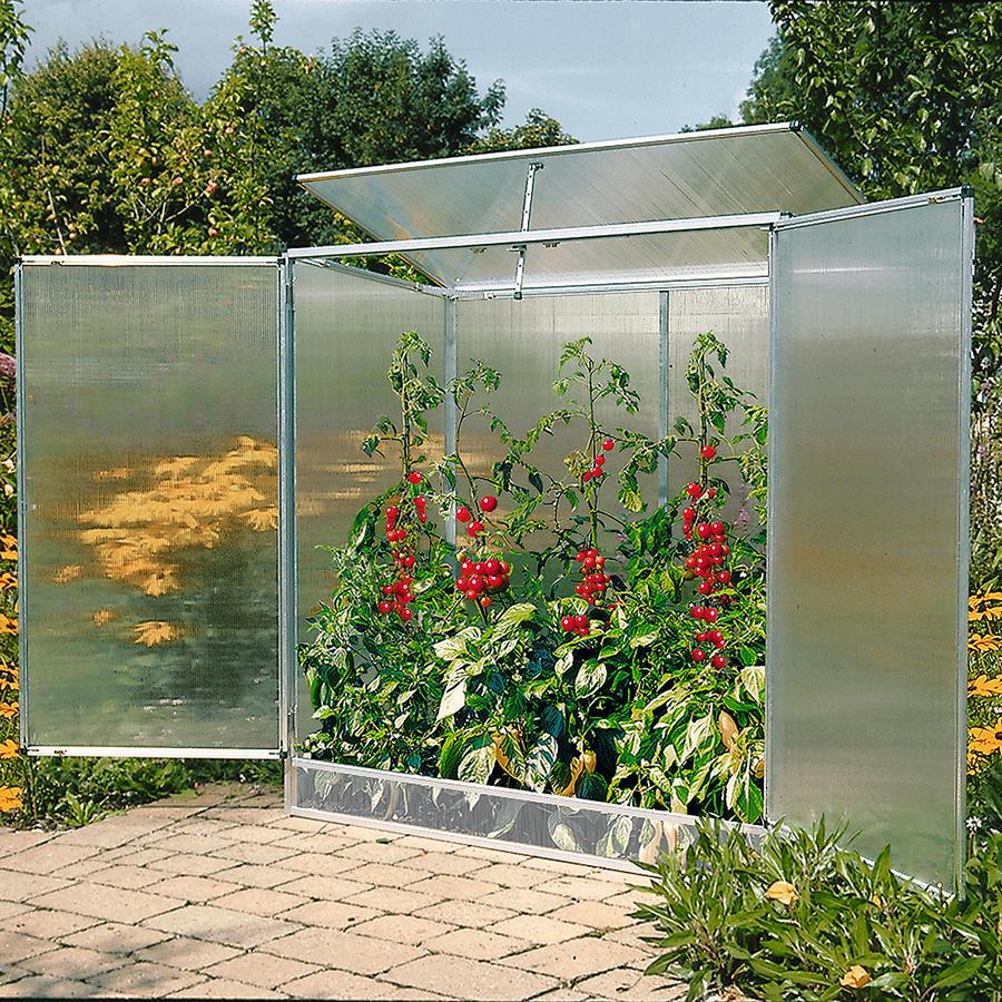 pflanzenhaus modell 1 160 x 77 x 162 cm mit 6 mm stegdoppelplatten bei schutzdach f r pflanzen. Black Bedroom Furniture Sets. Home Design Ideas
