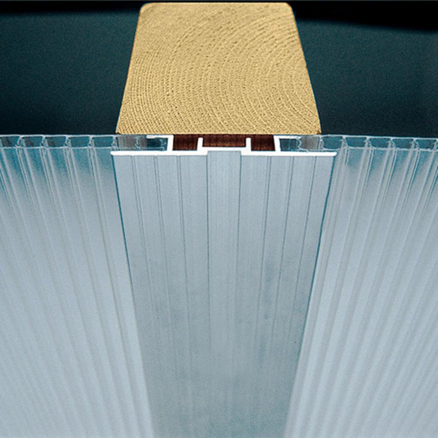 Aluminium Verbindungsprofil 2000 Mm Lang Stegdoppelplatten
