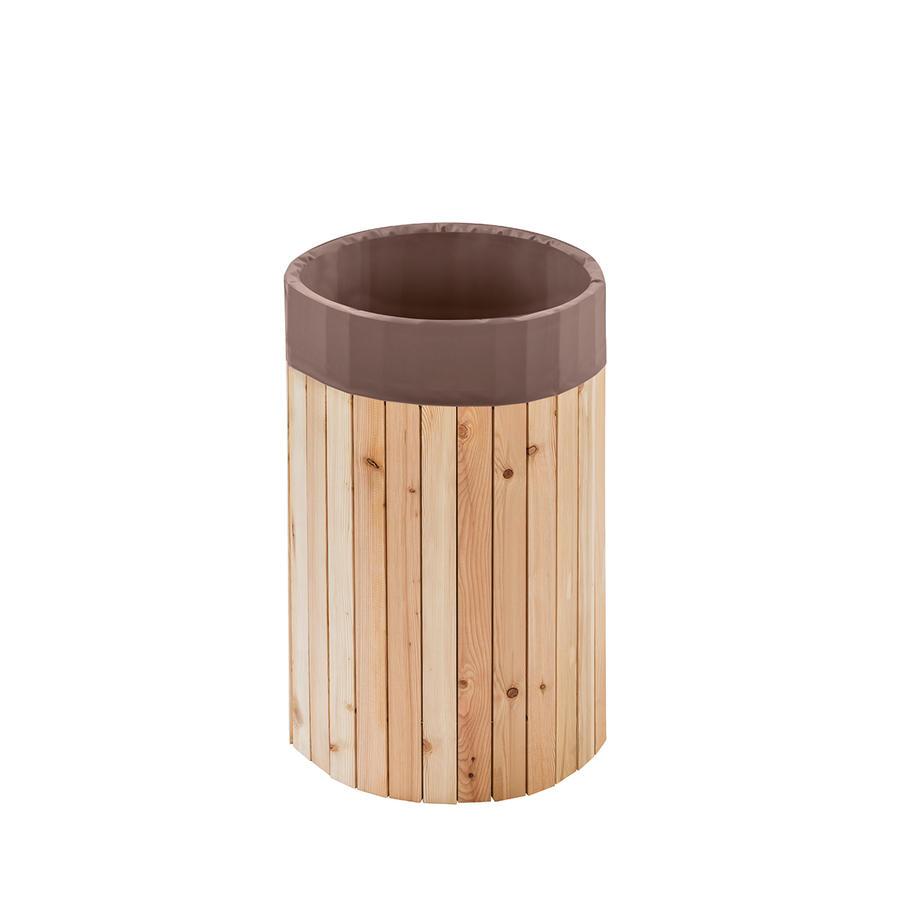 beckmann regenfass 100 l aus l rchenholz beckmann regenf sser aus l rchenholz regenwasser. Black Bedroom Furniture Sets. Home Design Ideas