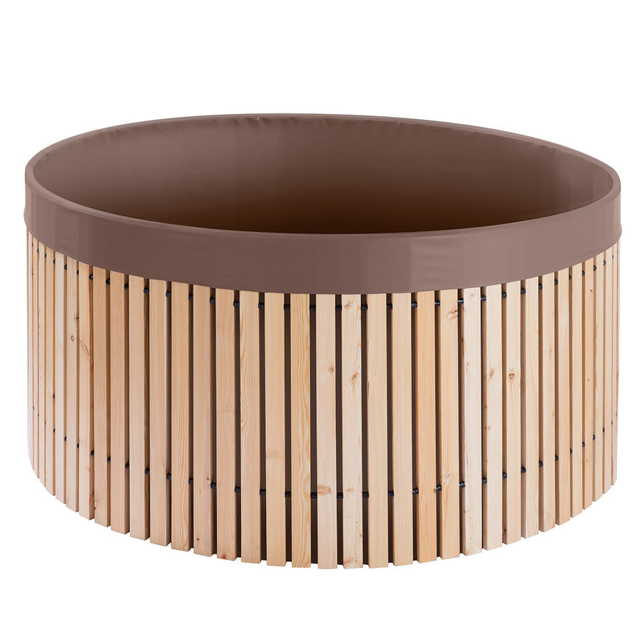 beckmann regenfass 2000 liter aus l rchenholz beckmann kg. Black Bedroom Furniture Sets. Home Design Ideas