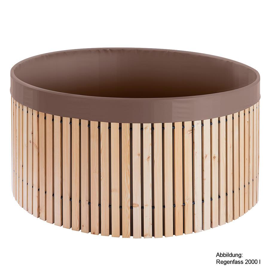 beckmann regenfass 4000 l aus l rchenholz beckmann. Black Bedroom Furniture Sets. Home Design Ideas
