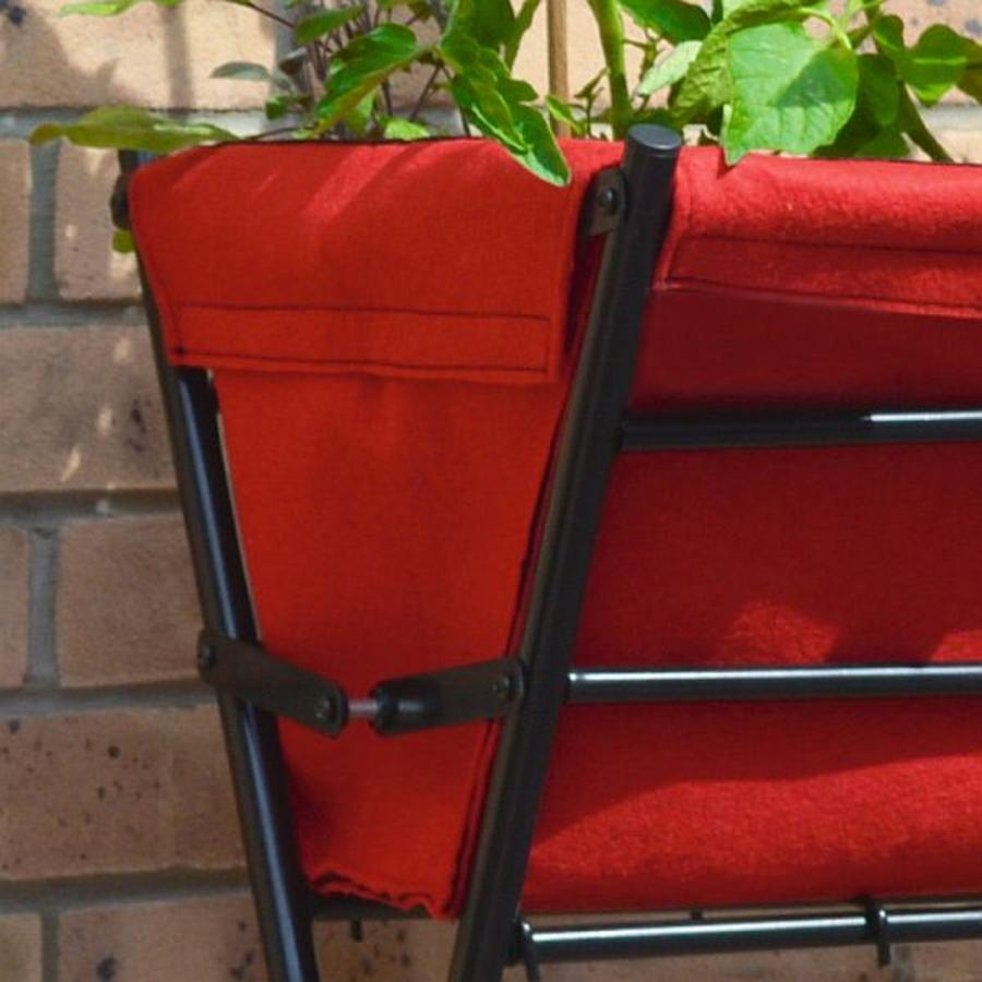 ersatztasche rot f r balkon und terrassen hochbeet trend. Black Bedroom Furniture Sets. Home Design Ideas