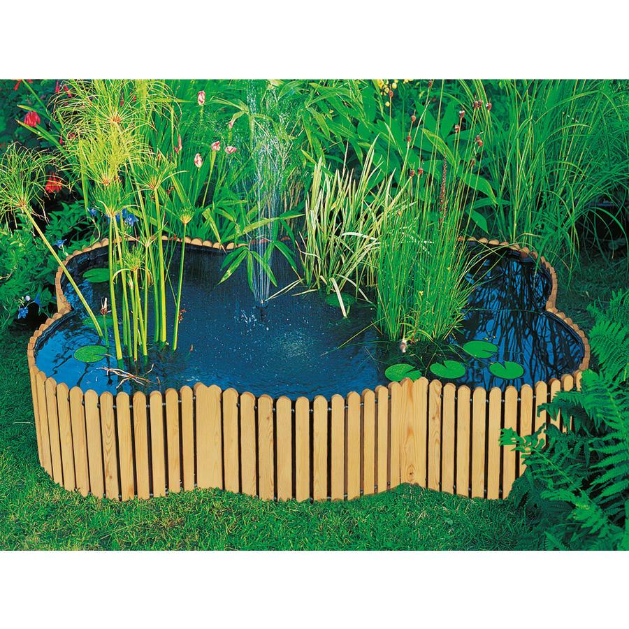 hochteich 220 x 160 cm h he 44 cm hochteiche aus l rchenholz hochbeete und hochteiche. Black Bedroom Furniture Sets. Home Design Ideas