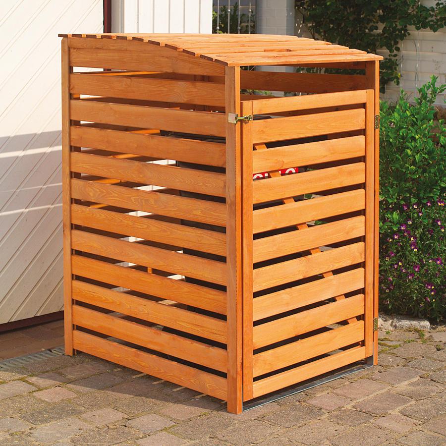 mülltonnenbox für 1 tonne - dekoratives und schönes - beckmann kg
