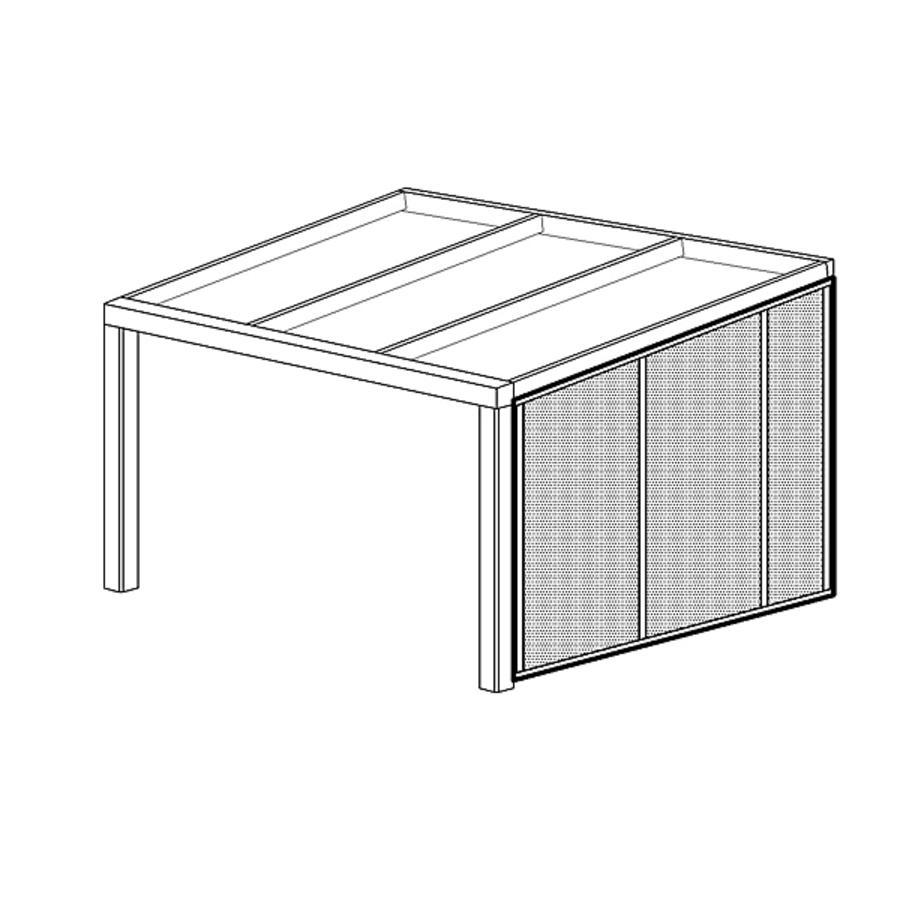 seitenwand rechts f r gr e 1a 4 zubeh r tiefe 271 cm. Black Bedroom Furniture Sets. Home Design Ideas