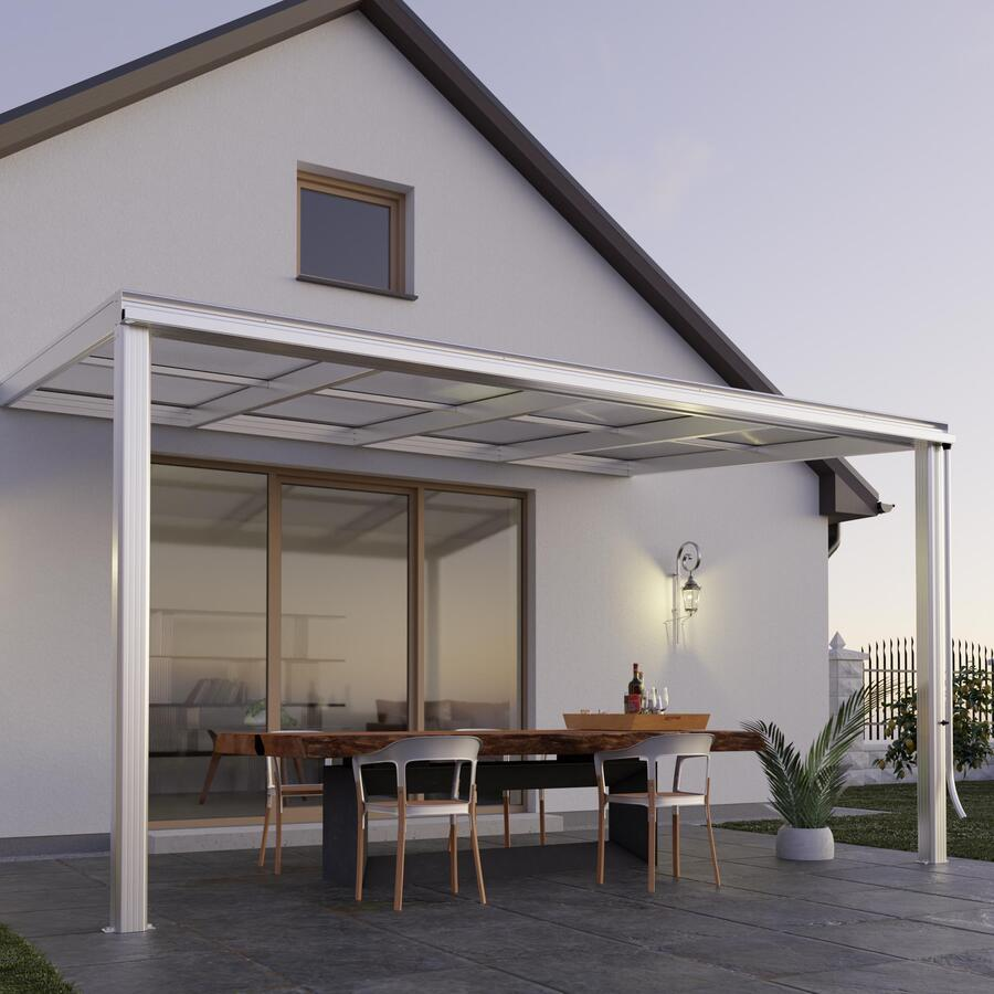 Terrassen-Überdachung Exklusiv Größe 2 Tiefe 271 Cm, Länge