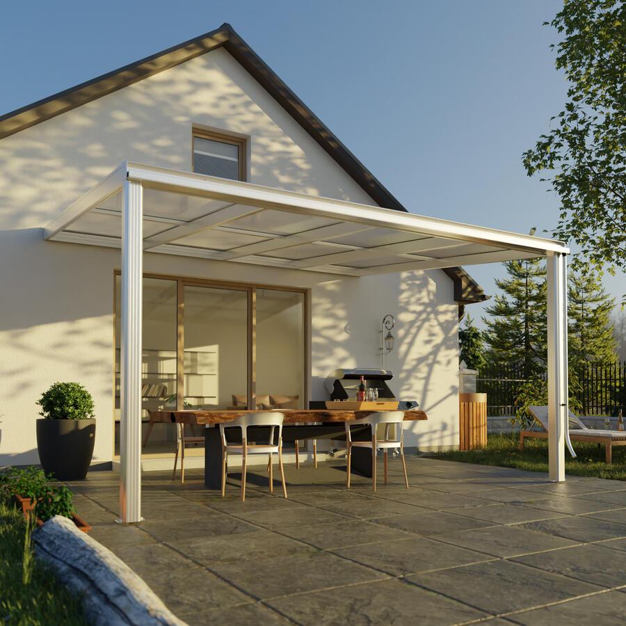 terrassen berdachung exklusiv gr e 6 tiefe 322 cm l nge 407 cm gr e 6 322 x 407 cm tiefe. Black Bedroom Furniture Sets. Home Design Ideas