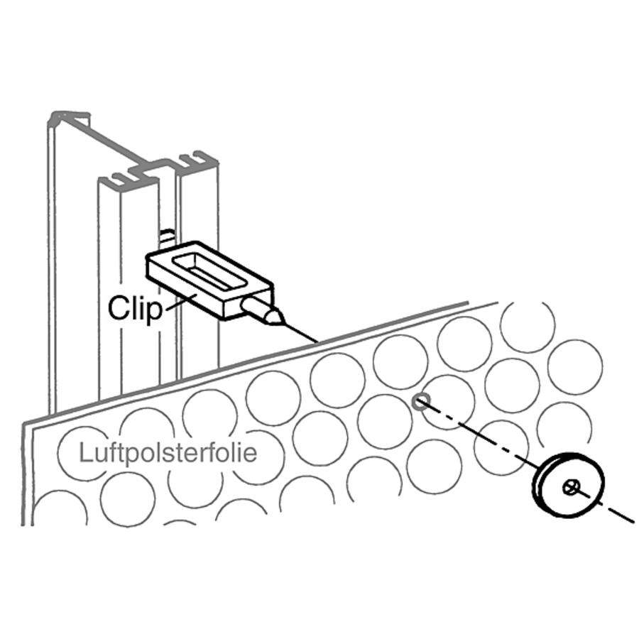 befestigungs clips befestigungen gew chshaus zubeh r. Black Bedroom Furniture Sets. Home Design Ideas