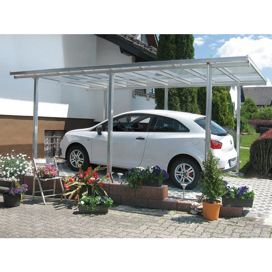 aluminium carport carports beckmann kg ihr. Black Bedroom Furniture Sets. Home Design Ideas