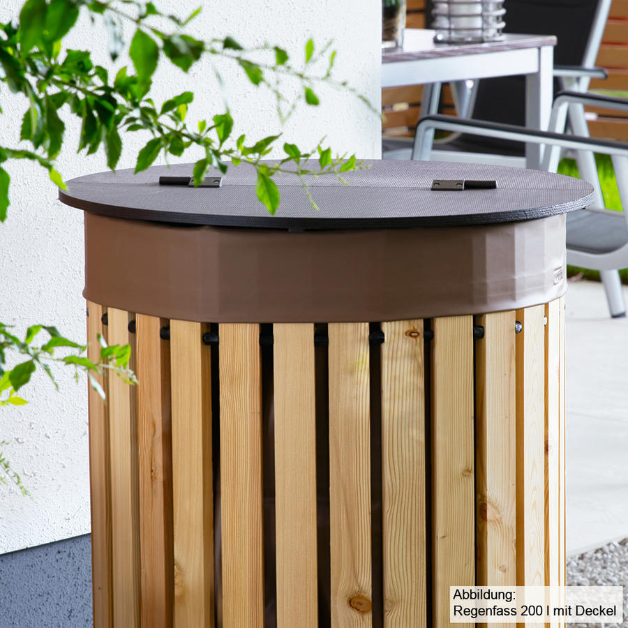 deckel f r beckmann regenfass 200 l deckel f r regenfass regenwasser sammeln urbanes g rtnern. Black Bedroom Furniture Sets. Home Design Ideas