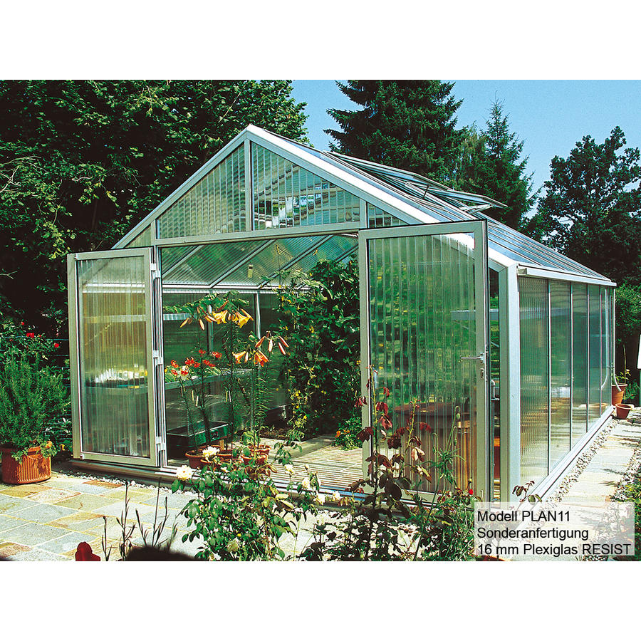 Ganz und zu Extrem Gewächshaus Typ Plantarium Modell PLAN11 - PLAN11 -- 419 x 520 cm @OG_88