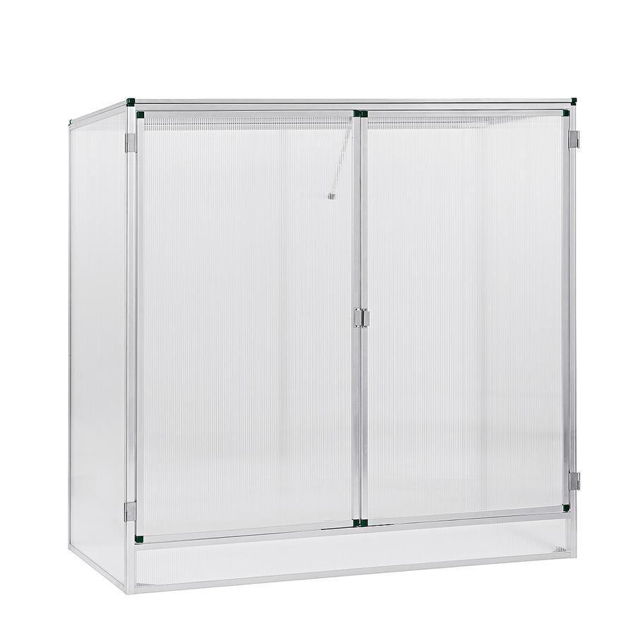 pflanzenhaus modell 1 160 x 77 x 162 cm mit 6 mm stegdoppelplatten pflanzenhaus gew chsh user. Black Bedroom Furniture Sets. Home Design Ideas