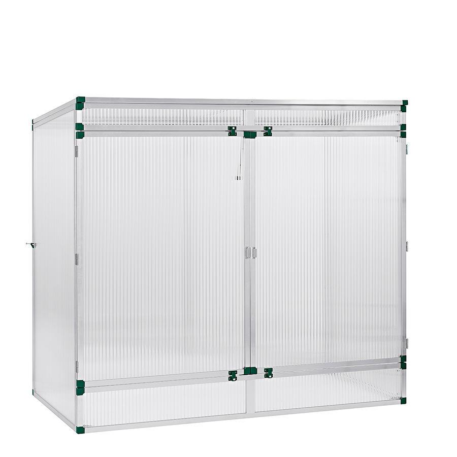 pflanzenhaus modell 2 201 x 107 x 183 cm mit 16 mm. Black Bedroom Furniture Sets. Home Design Ideas