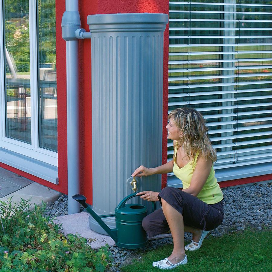 s ulentank 330 l steingrau s ulentanks regenwasser sammeln beckmann kg ihr spezialist f r. Black Bedroom Furniture Sets. Home Design Ideas