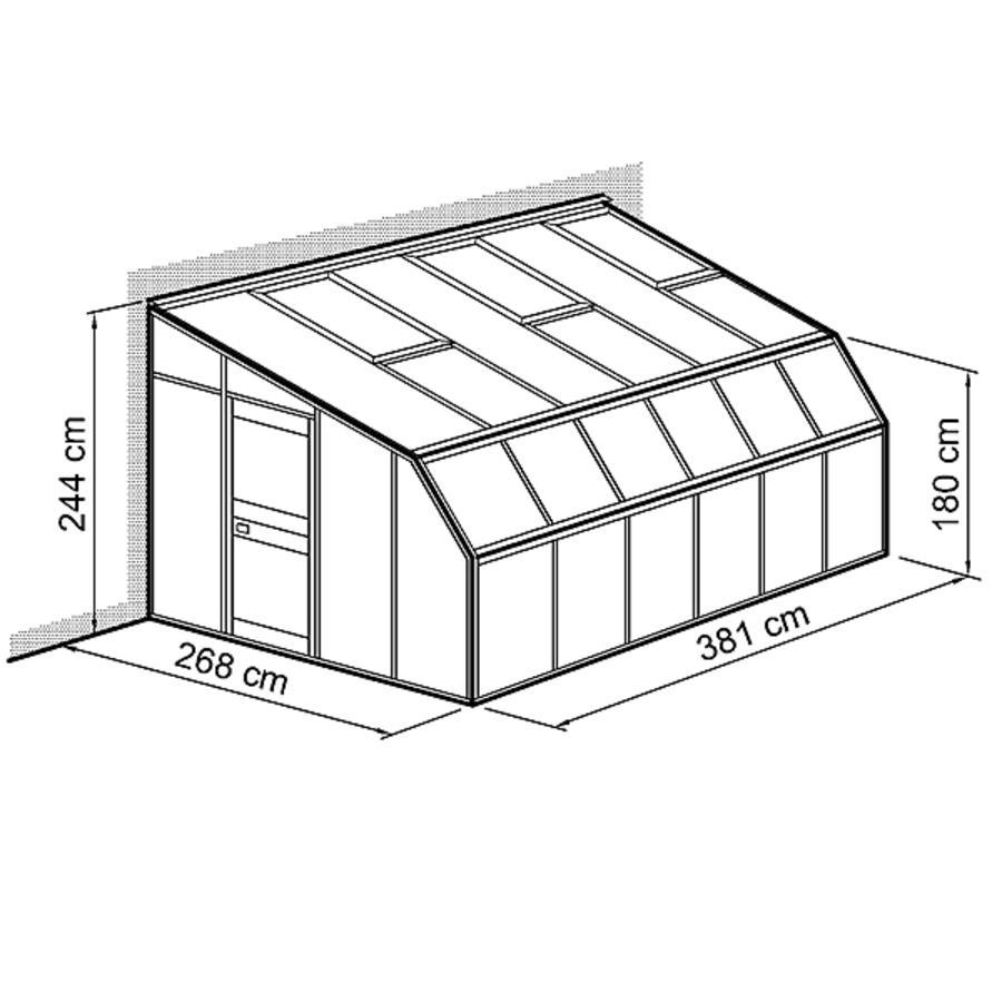 anlehnhaus typ allg u modell w1 modell w1 268 x 381 cm anlehnhaus typ allg u w winterg rten. Black Bedroom Furniture Sets. Home Design Ideas