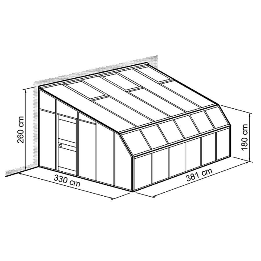 anlehnhaus typ allg u modell w3 modell w3 330 x 381 cm anlehnhaus typ allg u w winterg rten. Black Bedroom Furniture Sets. Home Design Ideas