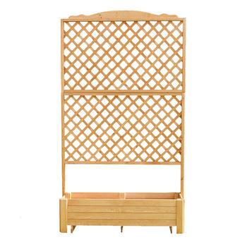pflanzkasten mit spalier b 120 cm h 210 cm pflanzk sten mit spalier pflanzgef e und. Black Bedroom Furniture Sets. Home Design Ideas