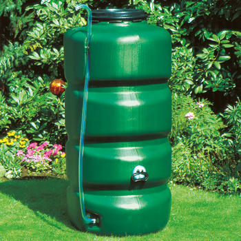 gartenfass 1000 l gartenf sser regenwasser sammeln. Black Bedroom Furniture Sets. Home Design Ideas