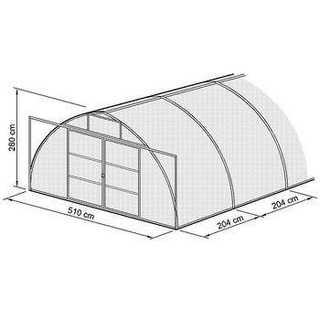 gew chshaus typ sdp modell sdp56 sdp5 breite 510 cm typ sdp gew chsh user beckmann kg. Black Bedroom Furniture Sets. Home Design Ideas