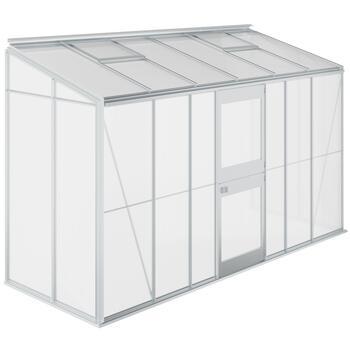 Balkongewächshaus - Anlehn- und Balkon-Gewächshaus Typ Allgäu Modell BUT8