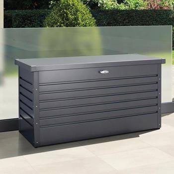 Gerätebox - Garten- und Freizeitbox   Größe 2   Dunkelgraumetallic  133 x 61 x 70 cm