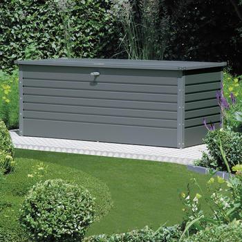 Gerätebox - Garten- und Freizeitbox   Größe 3   Dunkelgraumetallic  180 x 78 x 70 cm