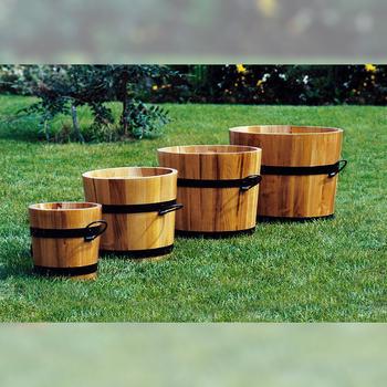 Pflanzkasten - Pflanzkübel aus Robinienholz