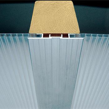 Stegdoppelplatten - Aluminium-Verbindungsprofil 2000 mm lang