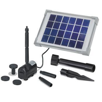 Solarpumpe - Solar-Teichpumpenset   2 W, 175 l/Std.