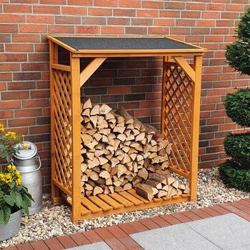 Holzlager - Kaminholz-Regal - Grundmodul