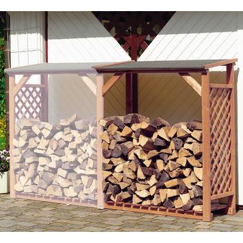 Holzlager - Kaminholz-Regal - Erweiterung
