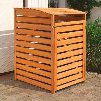 Mülltonnenverkleidung - Mülltonnenbox für 1 Tonne